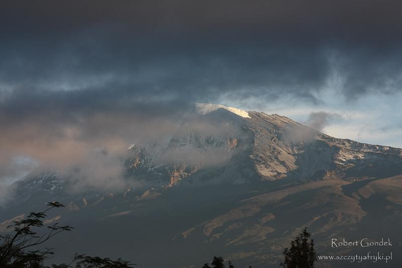 Kilimandżaro - widok z góry