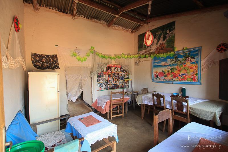 Restauracja w Malawi