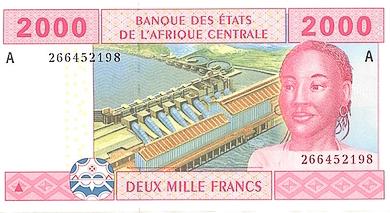 Pieniądze w Gabonie