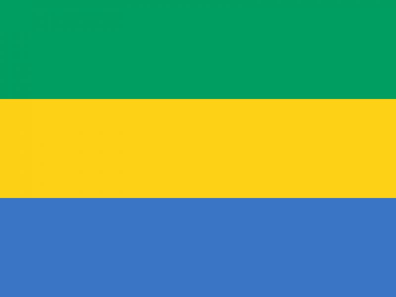 Flaga Gabonu