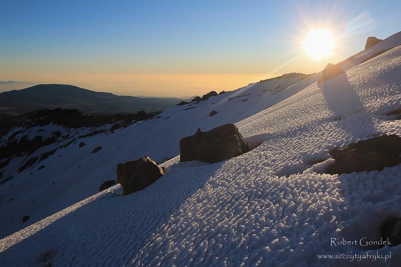 Śnieg w Kenii