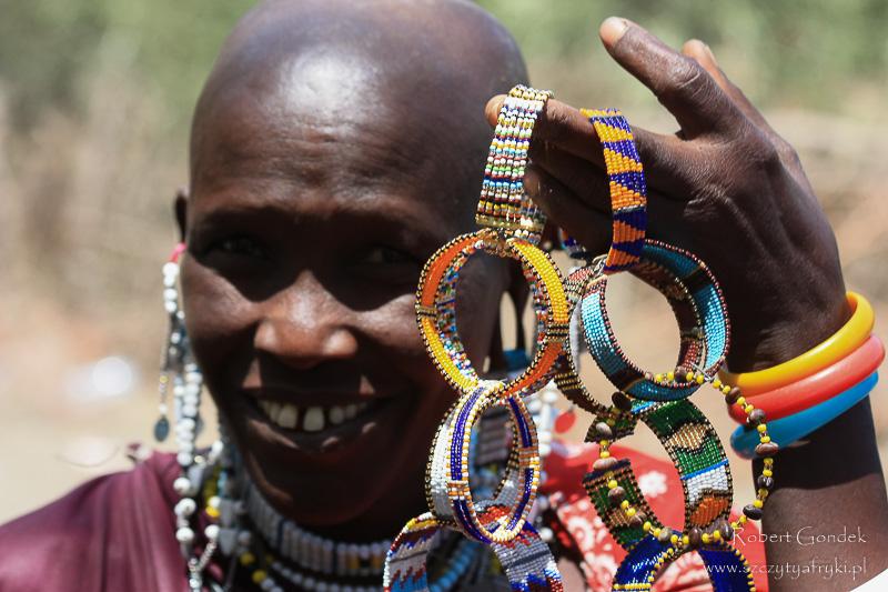 Masajowie i pamiątki