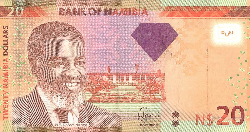 Pieniądze w Namibii