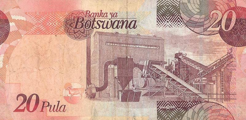 Botswana - informacje praktyczne - banknoty