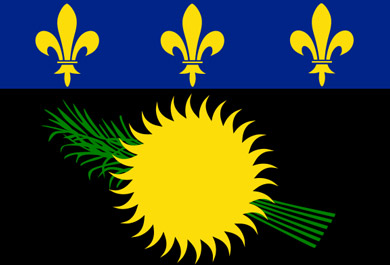 Flaga Gwadelupy