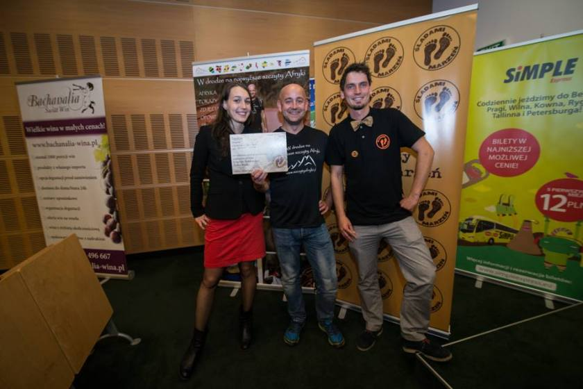 Nagroda na Festiwalu Podróżniczym Śladami Marzeń w Poznaniu