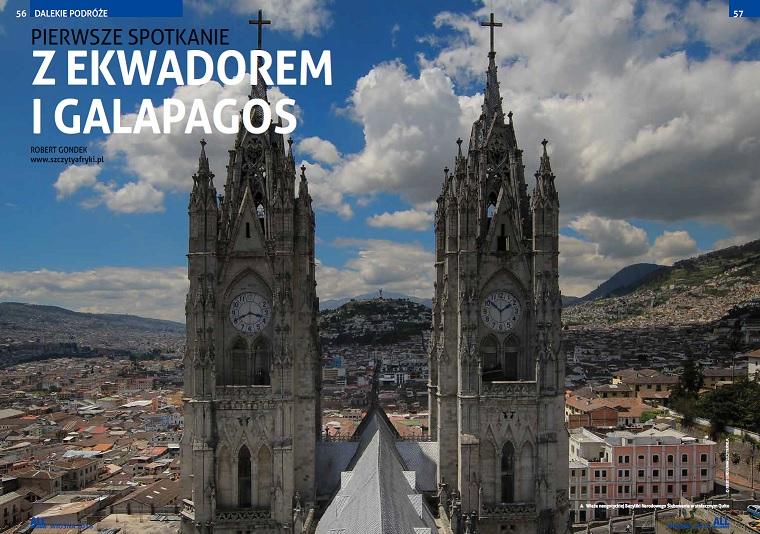 O podróżach do Ekwadoru