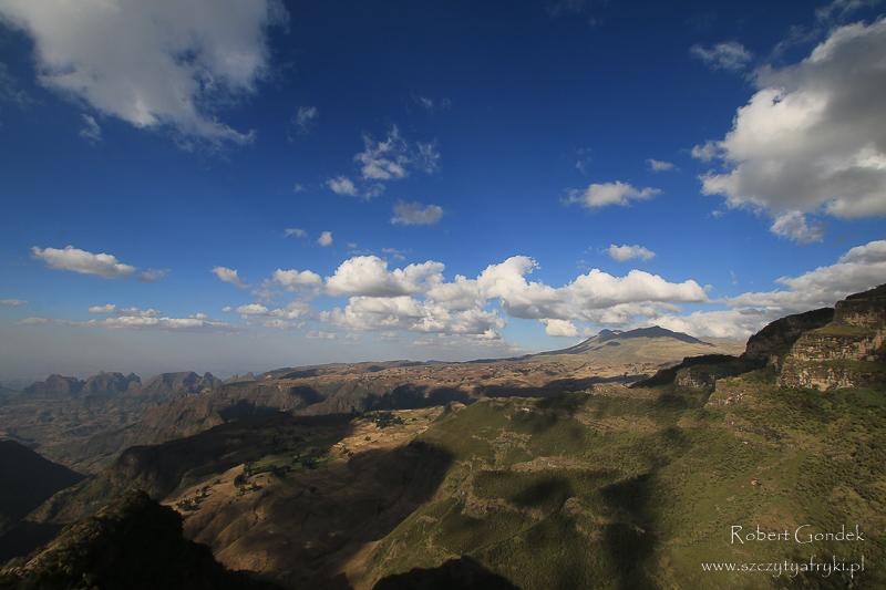 Góry Semien - przestrzenie