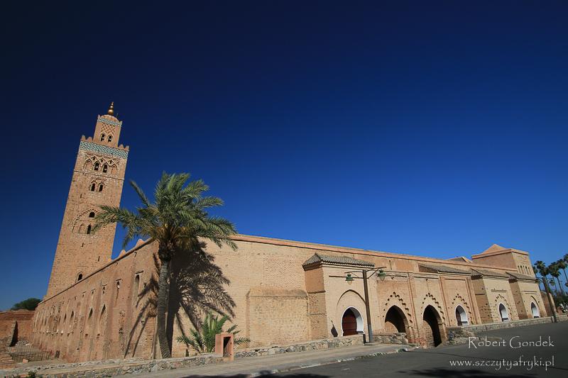 Maroko - Meczet Kutubijja w Marrakeszu