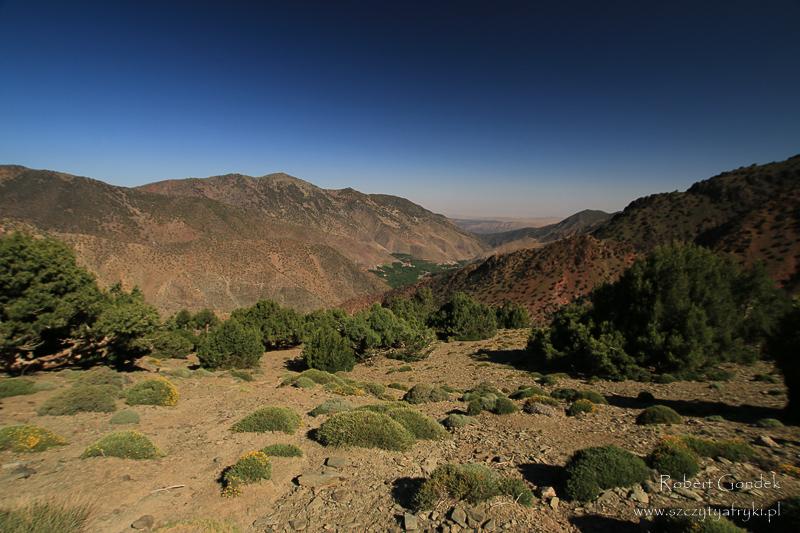 Maroko - Góry Atlas