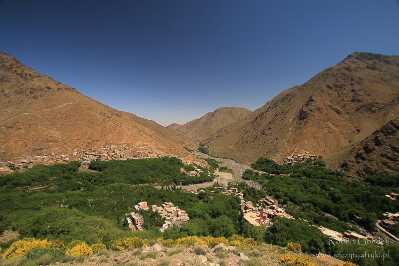 Maroko - Widok na Imlil
