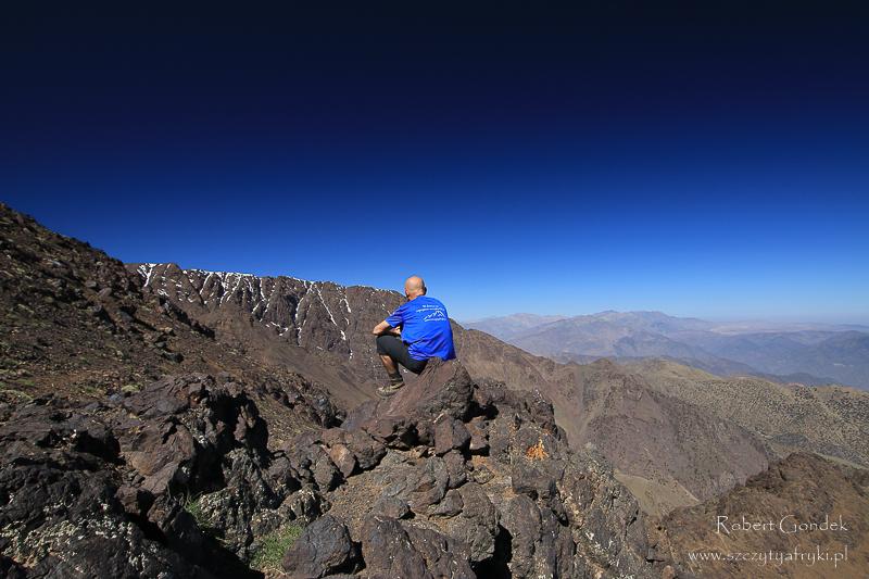Maroko - Widoki w górach Atlas