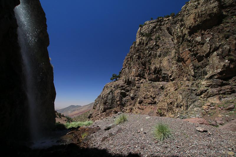 Maroko - Wodospady gór Atlas