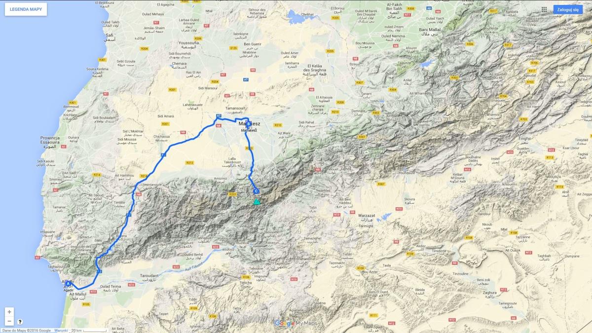 Koszty podróży do Maroka, informacje praktyczne, wskazówki