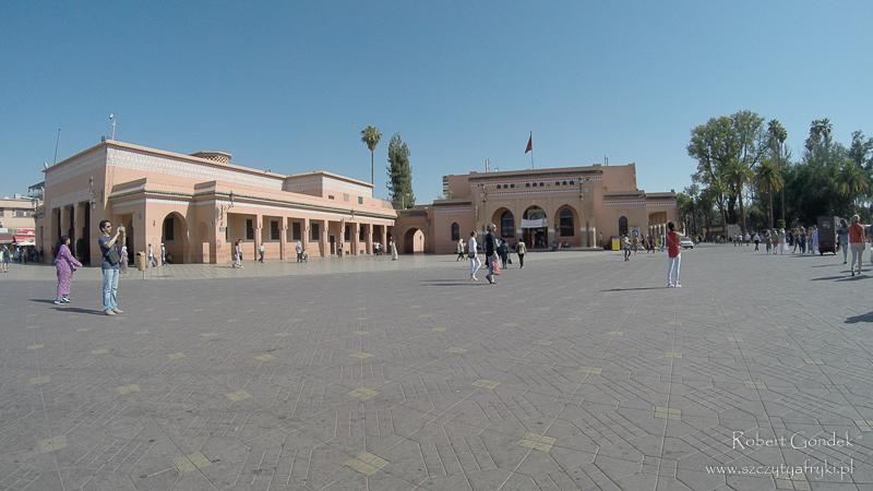 Maroko - Plac Dżemaa el-Fna w Marrakeszu