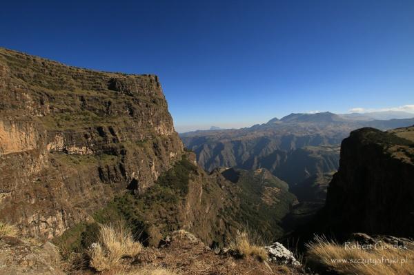 Góry Semien – widok na Imet Gogo