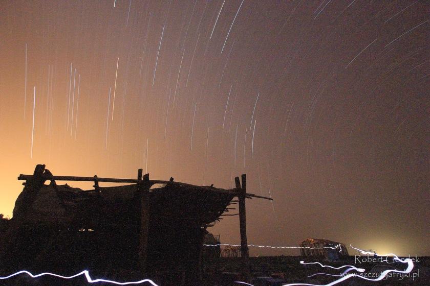 Etiopia - Kotlina Danakilska - Noc