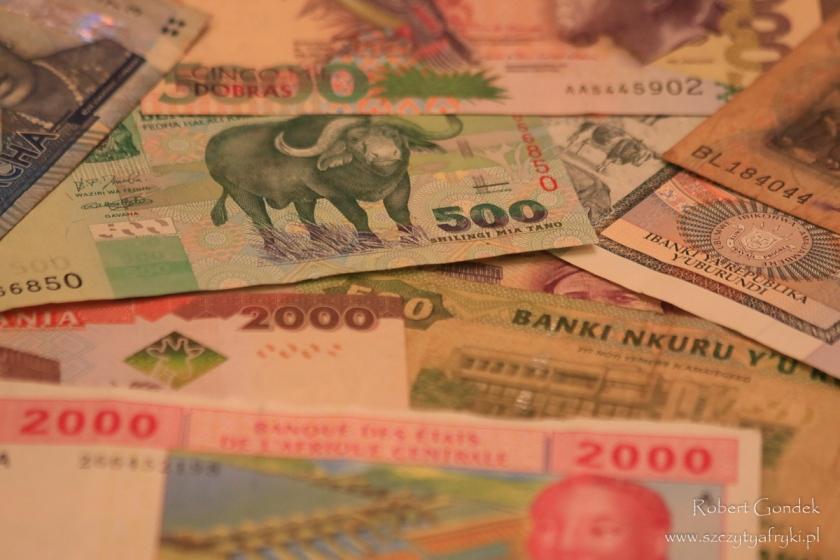Pieniądze w Afryce