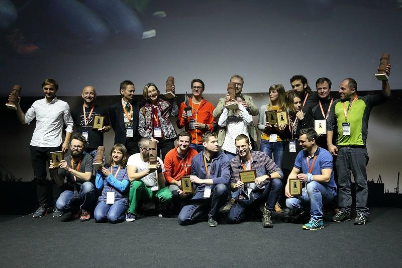 Nagrodzeni i wyróżnieni na Kolosach - fot. Julia Michalczewska