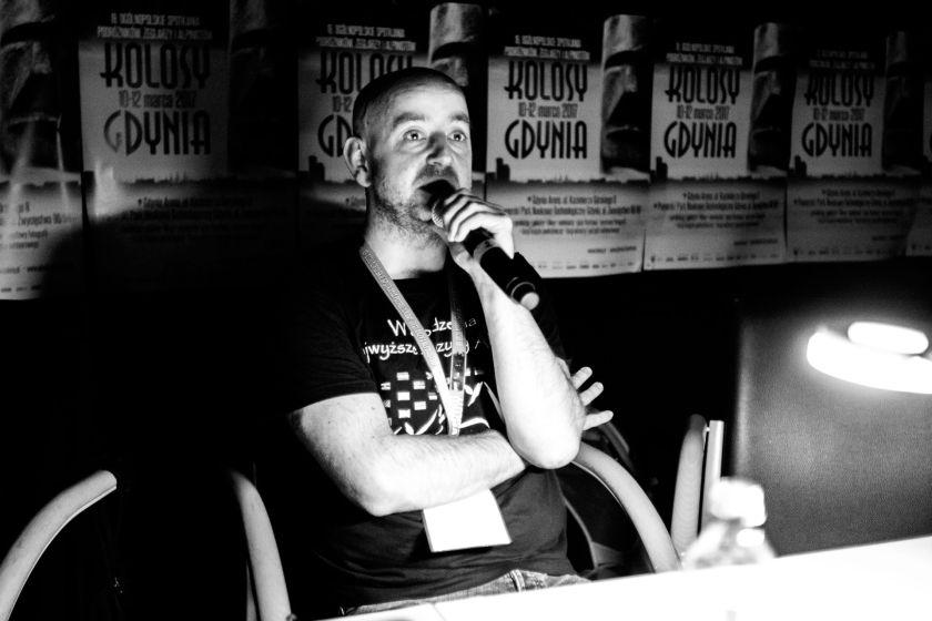 Podczas pokazu na Kolosach - fot. Sylwia Bukowicka