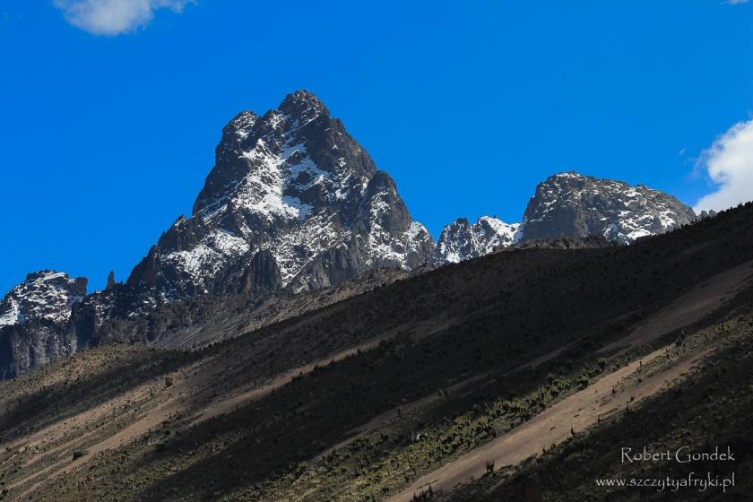 Najwyższa góra Kenii - Mount Kenya