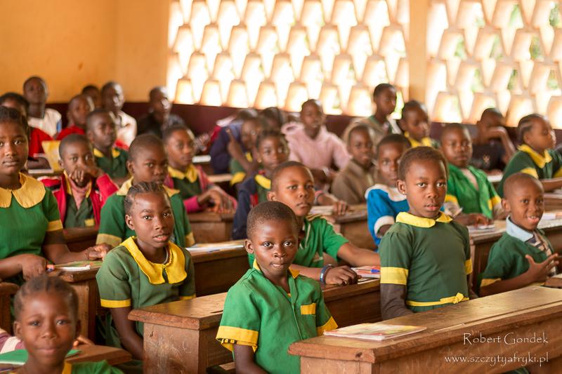 Szkoła w Somalomo