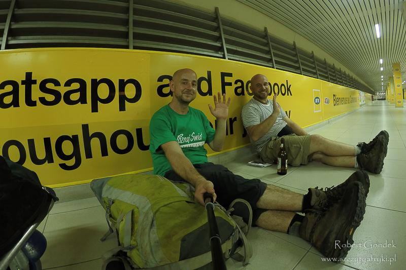 Na lotnisku w Douali