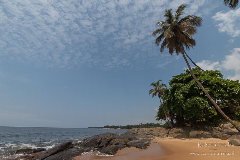 Wybrzeże kameruńskie w Lobe
