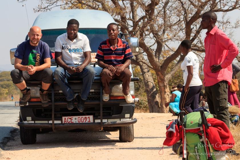 Podróżowanie po Zimbabwe – awaria chicken - busa