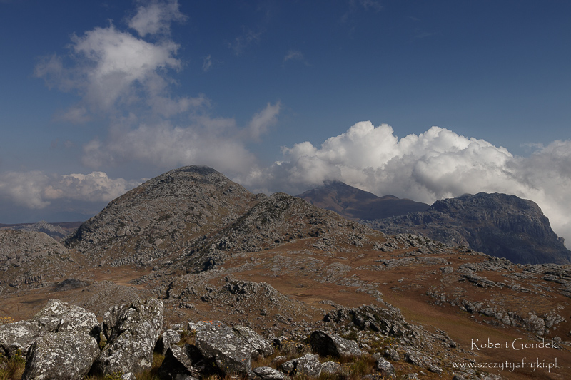 Widoki z podejścia na Mount Binga