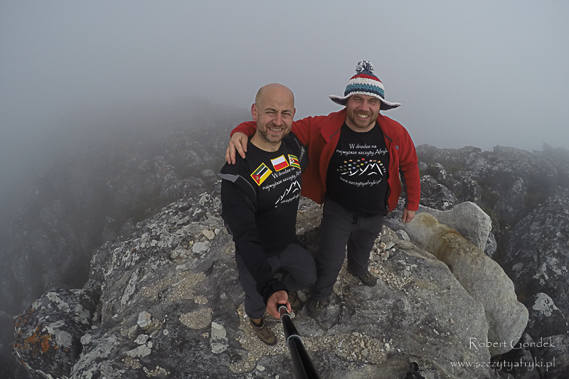 Robert Gondek i Łukasz Toch w górach Zimbabwe